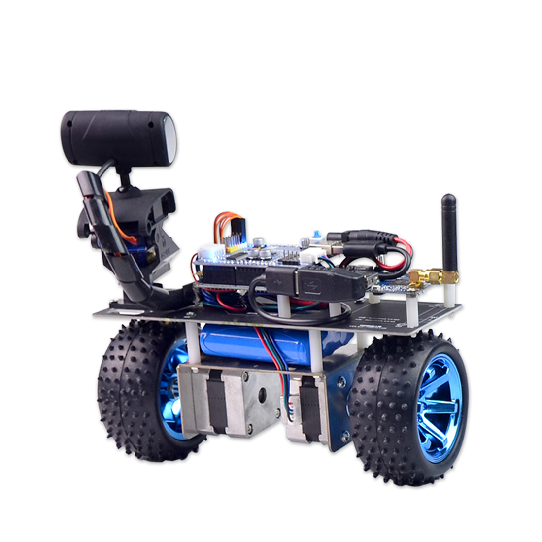 Programmable Intelligent Balance Car WiFi Video Robot Car Support IOS/Android APP PC Remote Control For STM32 Gift 2019