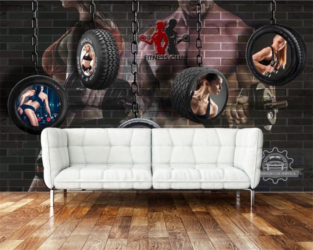 Beibehang 3d Wallpaper Mural Retro ...