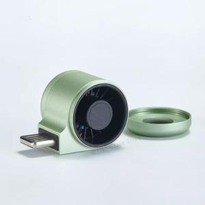 Image 5 - يوبين غيلدفورد USB ناشر هواء صغير للسيارة لتنقية الهواء الليمون/البرتقال الروائح خزانة للطفل المحمولة الهواء المعطر