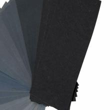 36pcs Sandpaper Polishing Grinding Grit 120 220 320 400 600 800 1000 1200 1500