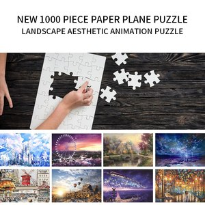 puzzles 1000 pieces wooden Ass