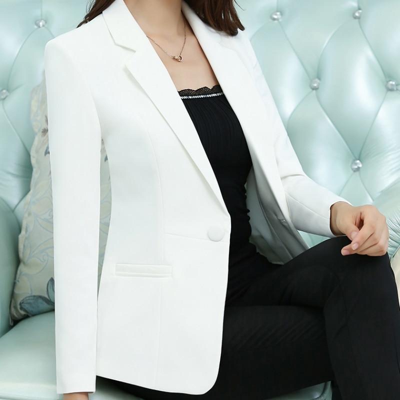 New Quality Autumn Spring Women's Blazer Elegant Fashion Lady Blazers Coat Suits Female Big S-5XL Office Jacket Formal Suit