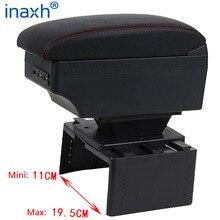 אוניברסלי רכב משענת יד מרכזית אוניברסלי דגם המכונית תיבת משענת אחסון אביזרי שינוי Retrofit חלקי עם USB LED