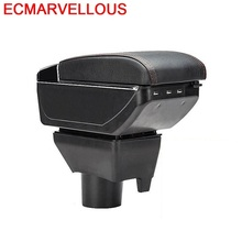 Accessory Car Car-styling Arm Rest Interior Automovil Modified Mouldings Upgraded Armrest Box 14 15 16 17 FOR Toyota Yaris