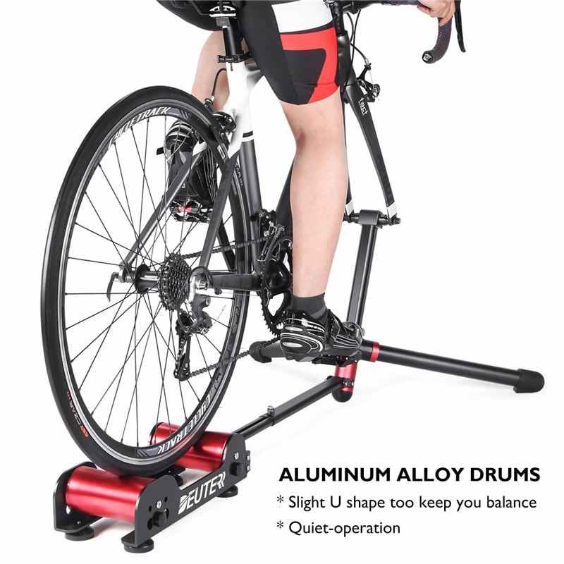 Sepeda Roller Latihan Rumah Ketahanan Pelatih Stasioner Roller Sepeda Pelatihan MTB ROAD Portabel Lipat Latihan Bersepeda Roller