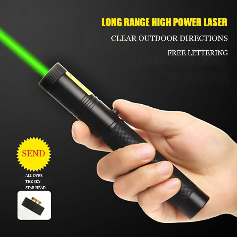 Laser Flashlight Star Sales House Laser Light Laser Driving School Instruction USB Charging Pointer Indicator Infrared