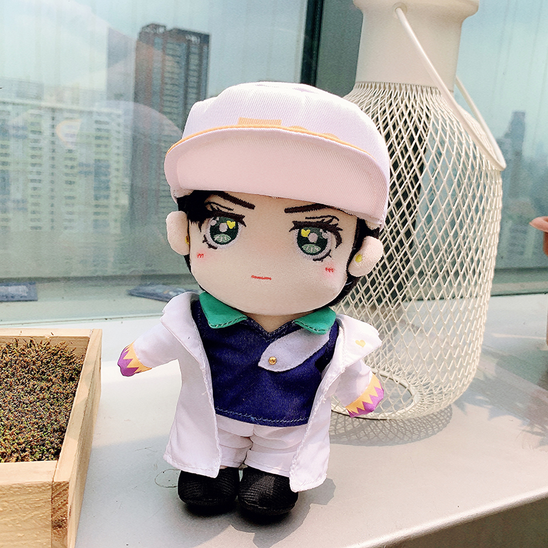 Anime JoJo/'s Bizarre Adventure Kujo Jotaro Dress up Plush doll Soft Toys Gifts