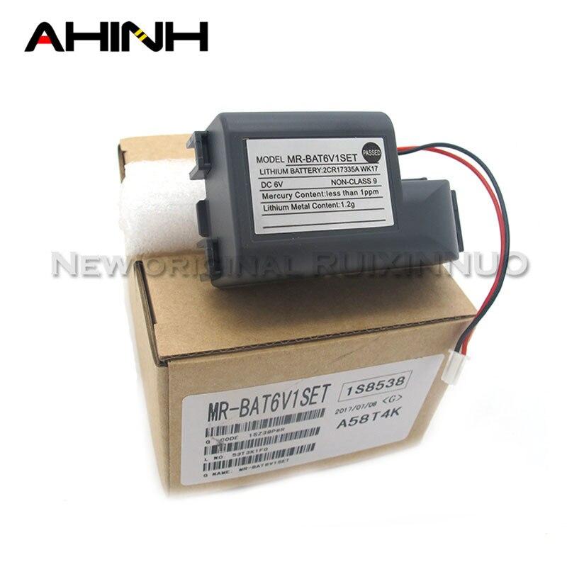 Bateria de reserva ycdc MR-BAT6V1SET 6v 1500mah plc para o sistema cnc MR-J4 2cr17335a wk17 con conector