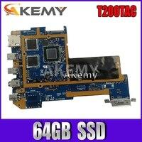Akemy T200TAC  tablet PC Logic motherboard  4G \/Z3795 CPU 64GB  SSD For Asus T200TAC T200TA T200T mainboard  90NB06I0-R00040