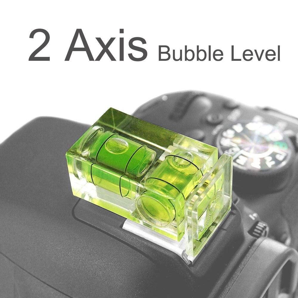 2 оси Горячий башмак пузырьковый Уровень Горячий башмак Крышка для Fujifilm Pentax DSLR SLR камеры аксессуары