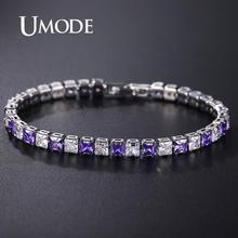 UMODE Fashion Cubic Zirconia Tennis Bracelet & Bangle Bridal Wedding Jewelry Women for Gifts Girl UB0178D