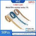 Металлические пленочные резисторы серии 1% 1/4 Вт 36 кГц-39 43 47 51 56 K 62 68 75 82 91 KR 100 110 120 130 150 ком 160 180 200 220 240 ком