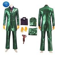 Gotham Season 5 Joker Cosplay Costume Batman Halloween Carnival Jerome Valeska Outfit Fancy Jeremiah Valeska Clothing