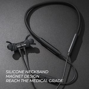 Image 5 - บลูทูธSoundPEATSหูฟังไร้สายBuilt In Micสเตอริโอเบสในหูหูฟังแม่เหล็ก 35 ชั่วโมงIPX6 ชุดหูฟัง