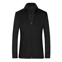 Mens Coats, Black Woolen Winter Clothes, Big Coats,Short Jacket Coats and Jackets