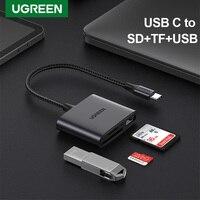 Ugreen lettore di schede USB C tipo C a SD lettore di schede Micro SD per PC iPad accessori per Laptop adattatore di memoria SD per telefono