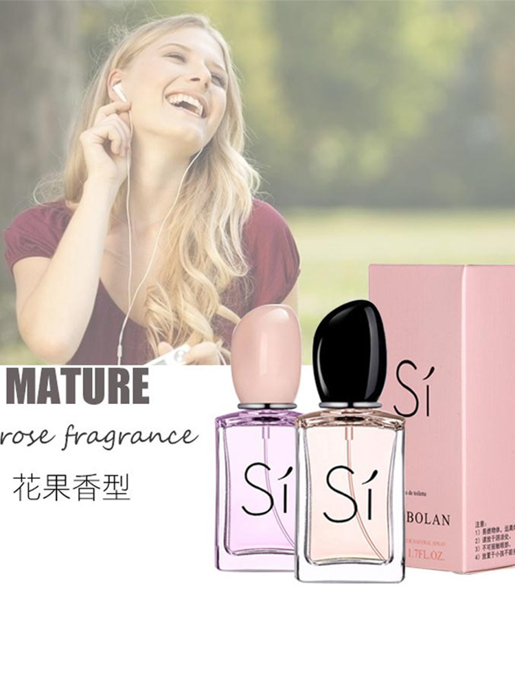 50ml Women Perfume Deodorant Aromatherapy Sprayer Body Lasting Fresh Eau De Toilette Original Fragrance Aroma Water Perfume