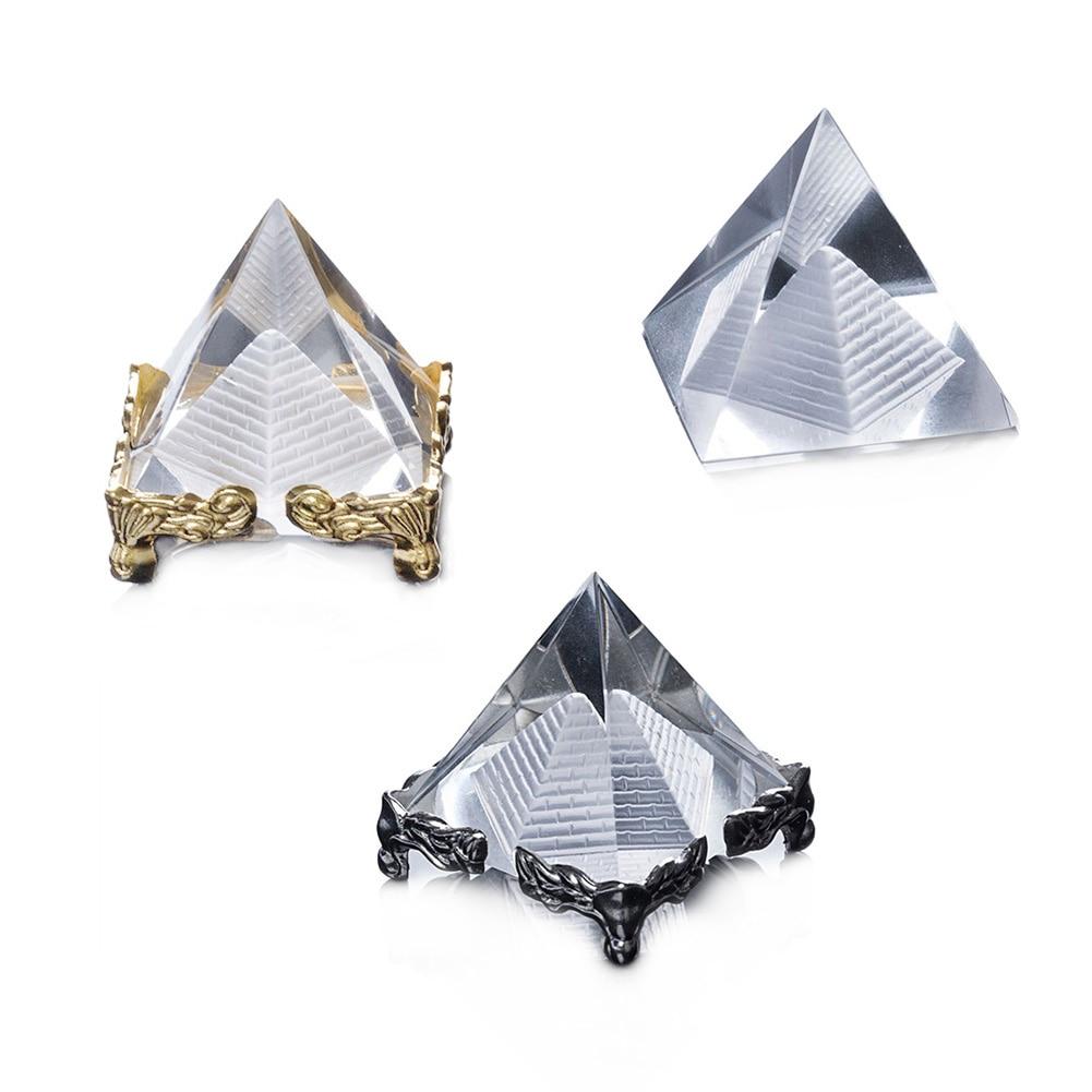 K9 piramit AAA kuvars kristal cam piramit oyulmuş piramit mısır mısır kristal piramit kristal mendil ev dekor