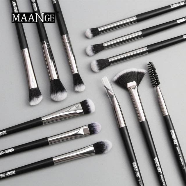 Pro  3/5/12 pcs/lot  Makeup Brushes Set Eye Shadow Eyeliner 4