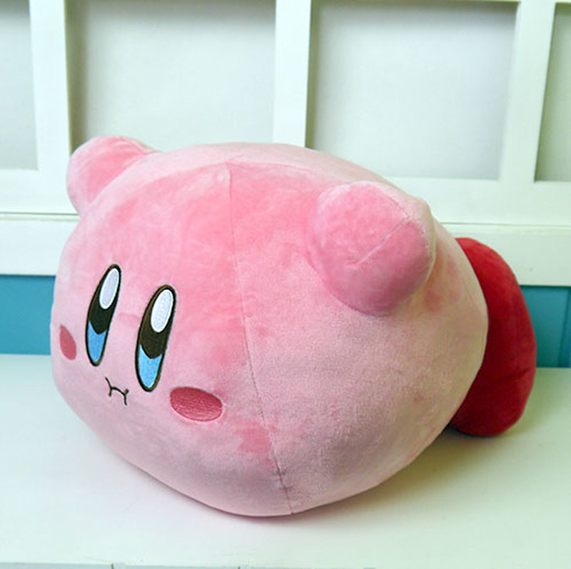 Anime Kirby Right Back At Ya Plush Toys Game Star Kirby Figure Doll Cosplay 30cm Filling Pillow 2 Style for Gift image