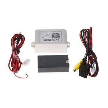 цена на Car Backup Camera Rearview RGB To AV Converter Adapter For VW Volkswagen RNS510 Converter Adapter