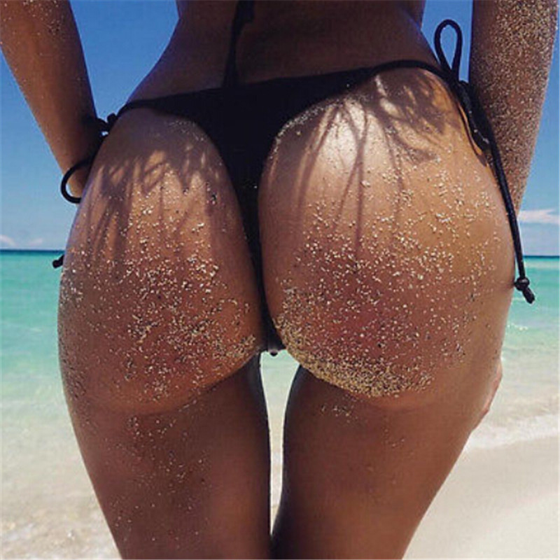 Sexy Womens Swimwear Swim Briefs Brazilian Cheeky Bikini Bottom Side Tie Thong Bikini Bathing Suit Swimsuit Swimming Costume