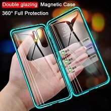 360 Magnetic Adsorption Metal Case For Huawei Honor 10 Mate 20 30 9X 8X P40 P30 P20 Pro Lite Nova 5T P Smart Y9 Prime 2019 Cover