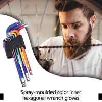 9 stücke L Schlüssel Hex Wrench Set Allen Inneren Hexagon Torx Stern Spanner Professionelle Schraubendreher Nützliche Reparatur Hand Werkzeug set