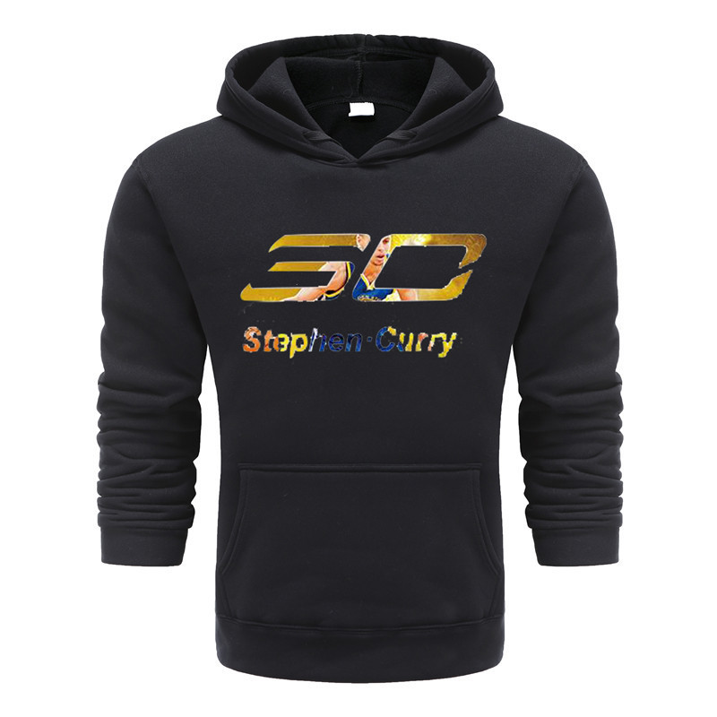 New Brand Clothing Stephen Curry Printed Sportswear Men Sweatshirt Hip-Hop Male Hoodies Pullover Casual Sportswear