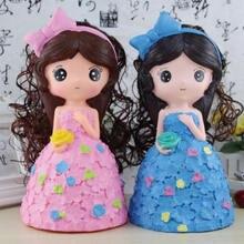 Силиконовый горшок для денег силиконовый парик милая кукла принцессы