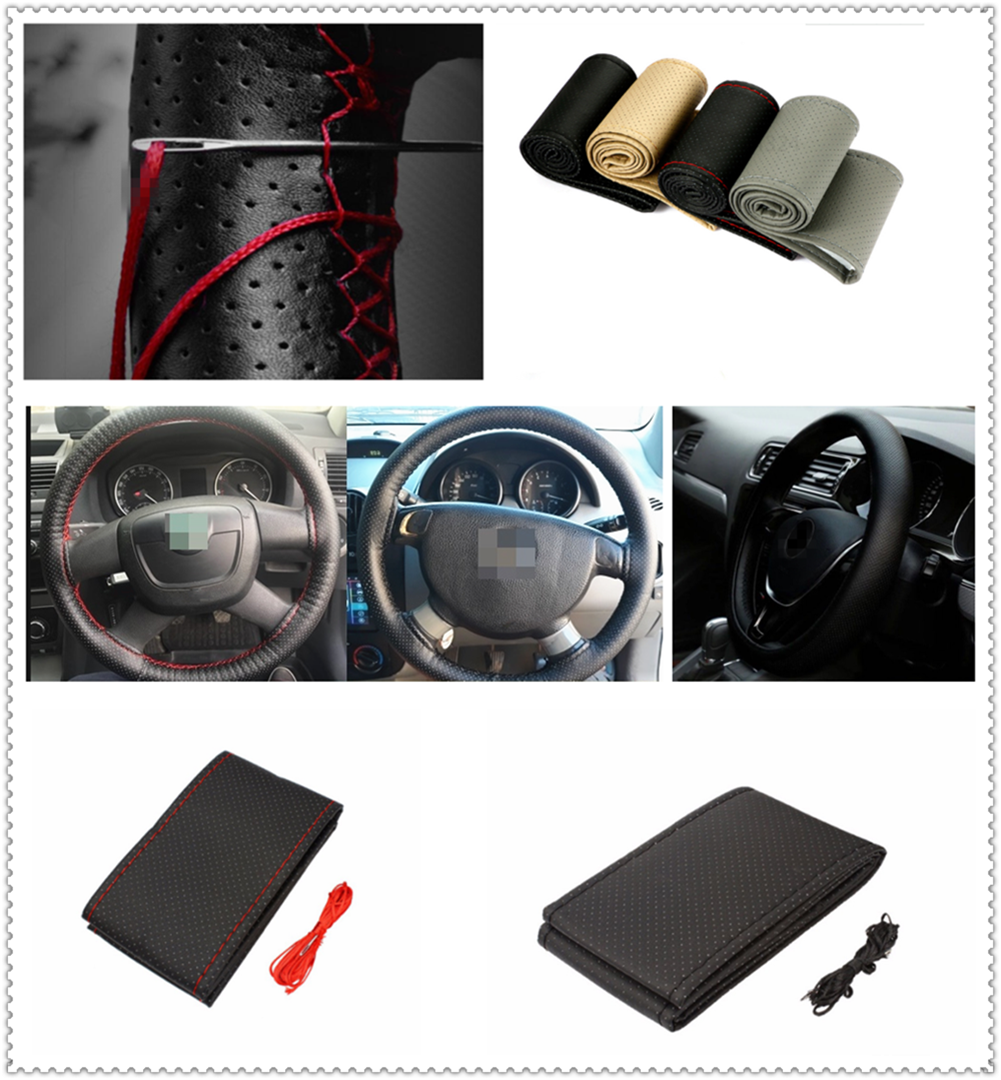 car auto diy braided hand sewing steering wheel cover s m l code auto parts for renault megane kadjar ez go captur arkana zoe steering covers aliexpress aliexpress