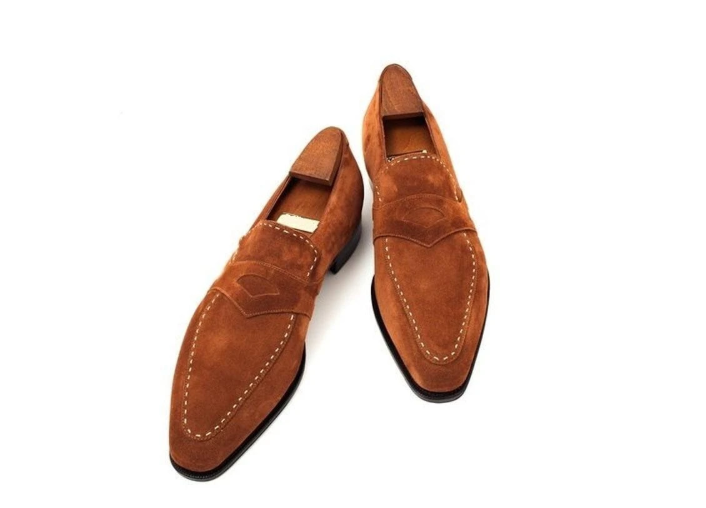 Men pu Leather Shoes Low Heel Fringe Shoes Dress Shoes Brogue Shoes Spring Ankle Boots Vintage Classic Male Casual F92