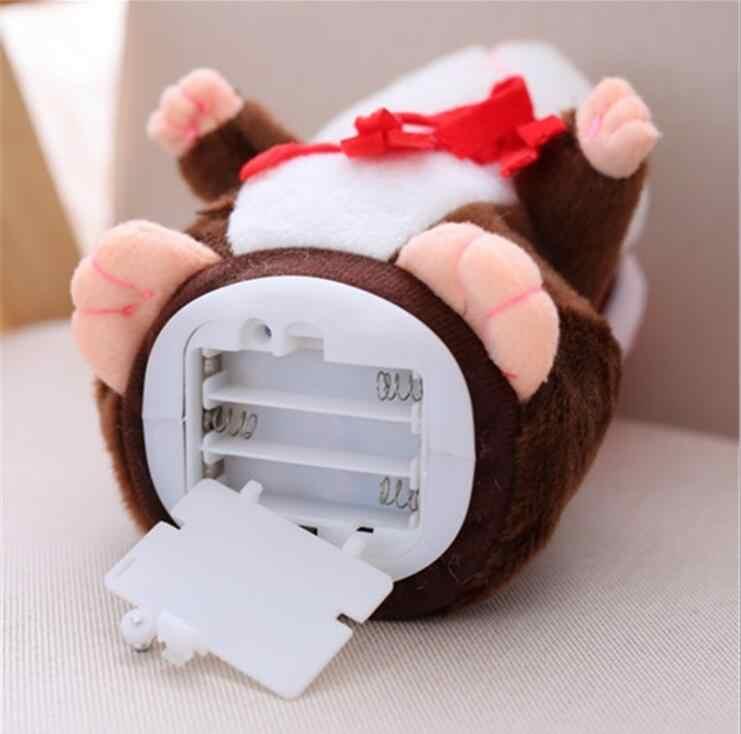 15cm Reden Hamster Sprechen Sprechen maus Sound Rekord Wiederholen Hamster Plüsch Tier Hamster Pädagogisches Spielzeug für Kinder Geschenk