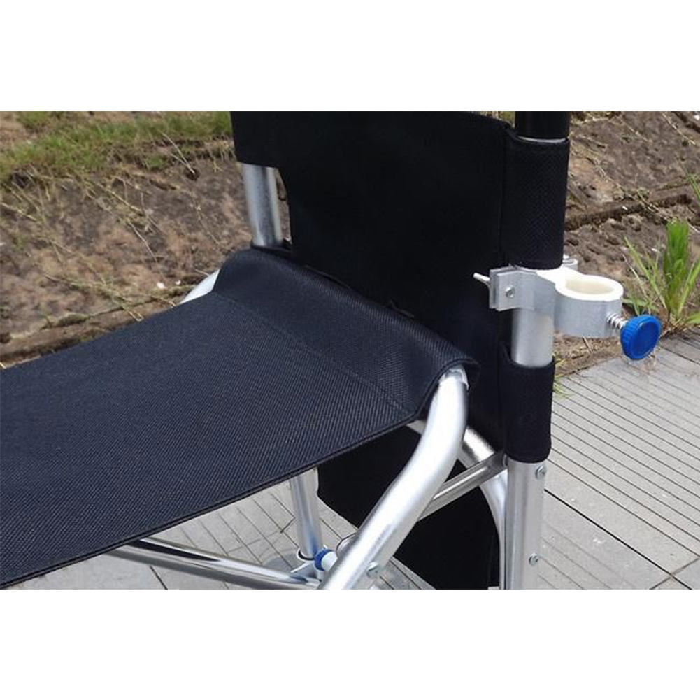Universal Adjustment Outdoors Tools Fishing Chair Accessories Mount Aluminum Alloy Leisure Umbrella Stand Holder Durable Clip
