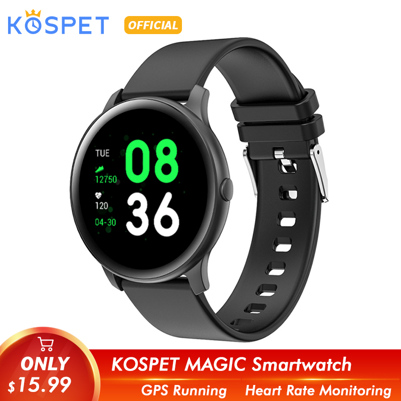KOSPET Magic Women Smart Watch Fashion Heart Rate Blood Oxygen Sport Bluetooth Men Fitness KW19 Smartwatch For Android IOS Phone