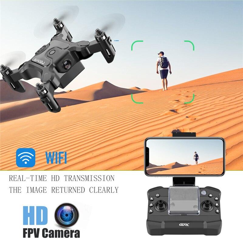 Mini Drone con/sin cámara HD modo de alto control RC Quadcopter RTF WiFi FPVQuadcopter Sígueme RC helicóptero Quadrocopter Kid'