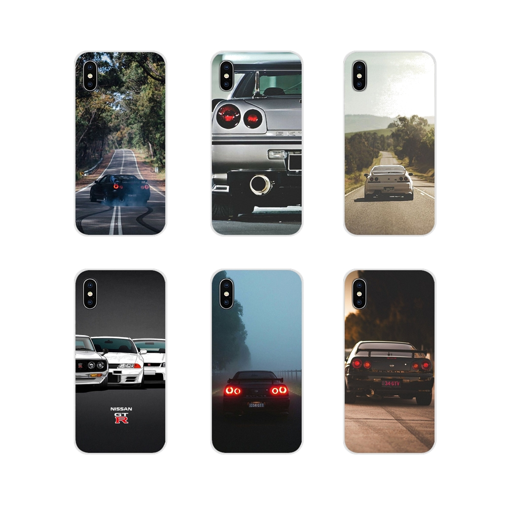 Accessories Phone <font><b>Cases</b></font> Covers For Samsung Galaxy J1 <font><b>J2</b></font> J3 J4 J5 J6 J7 J8 Plus <font><b>2018</b></font> Prime 2015 2016 2017 Nissan Skyline Gtr R34 image