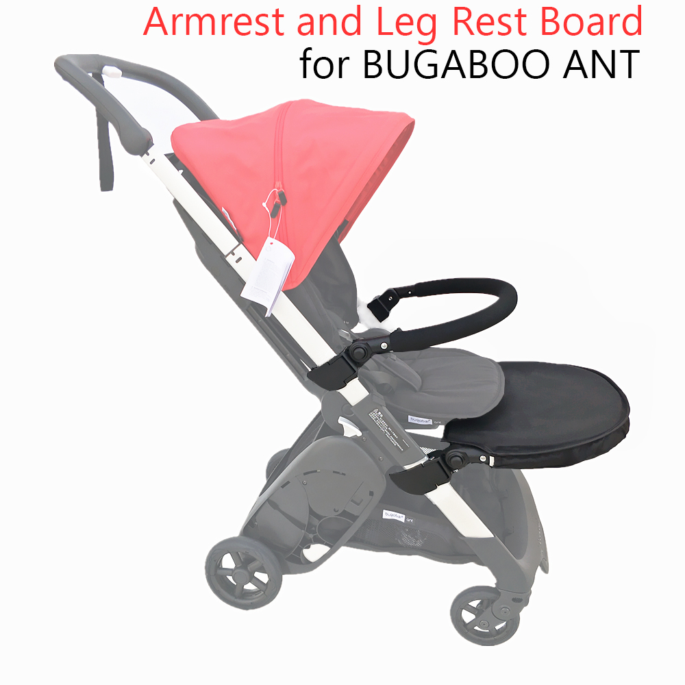 Baby Stroller Accessories Armrest Bumper and Leg Rest Board for BUGABOO ANT Stroller Footboard