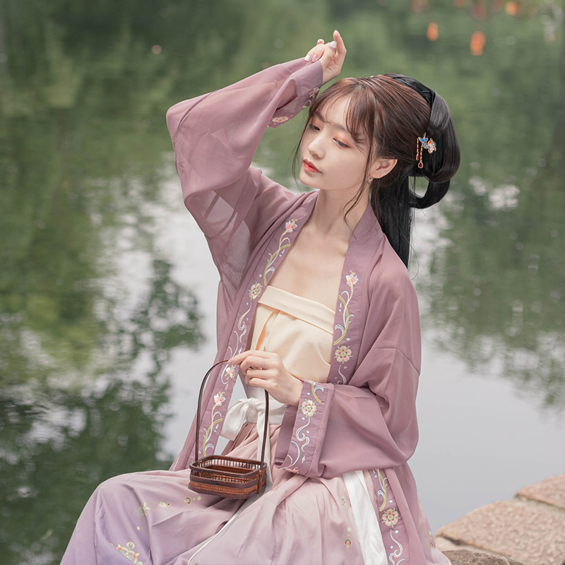 Hd06743e5332c4080b13da77e1d4f3094C - ชุดจีนโบราณ เครื่องแต่งกายจีนสมัยก่อน ชุดฮั่นฝู Hanfu ชุดจีนดั้งเดิม เสื้อผ้าผู้หญิงจีนโบราณ