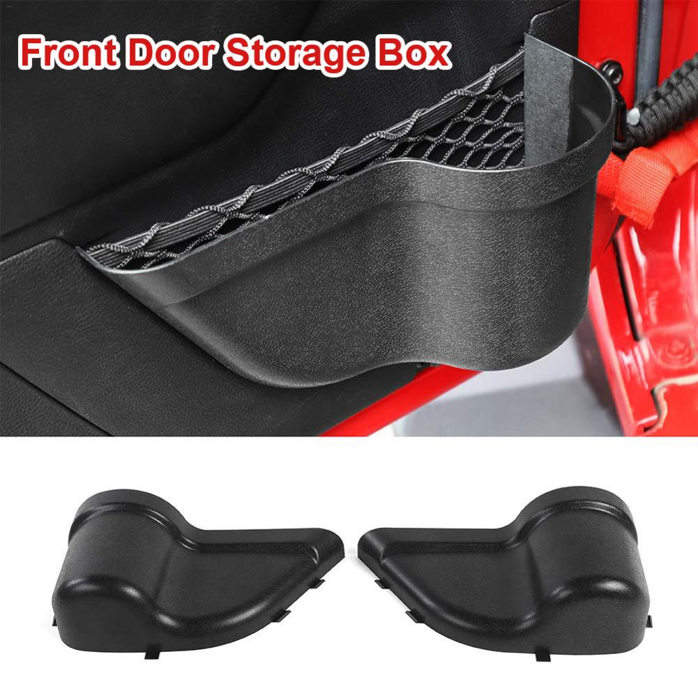 Pockets-Box Car-Organizer Storage Door-Net Jeep Wrangler Front-Door Pocket-Replacement title=