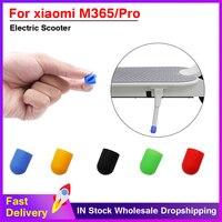 Funda de silicona para soporte de pie de patinete eléctrico, accesorios para patinete Ninebot Es2 Es4 Millet Xiaomi M365 y M365 Pro, 1 Uds.