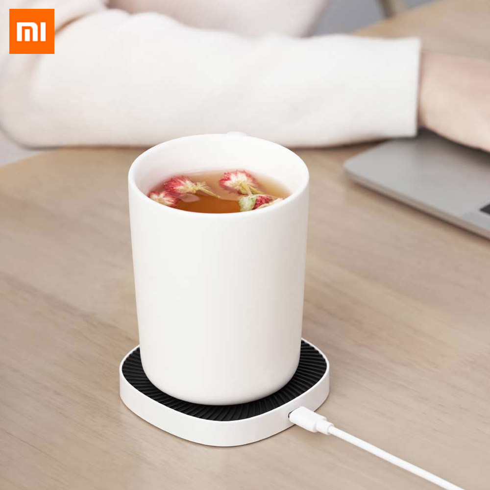 Xiaomi XiaoDa Intelligent Thermostat Wireless Cup Mat 15W Wireless Charging 18W 55℃ Constant Temperature Safety For Smart Home