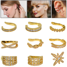 1pc Clip on Earrings Helix Cartilage Conch Fake