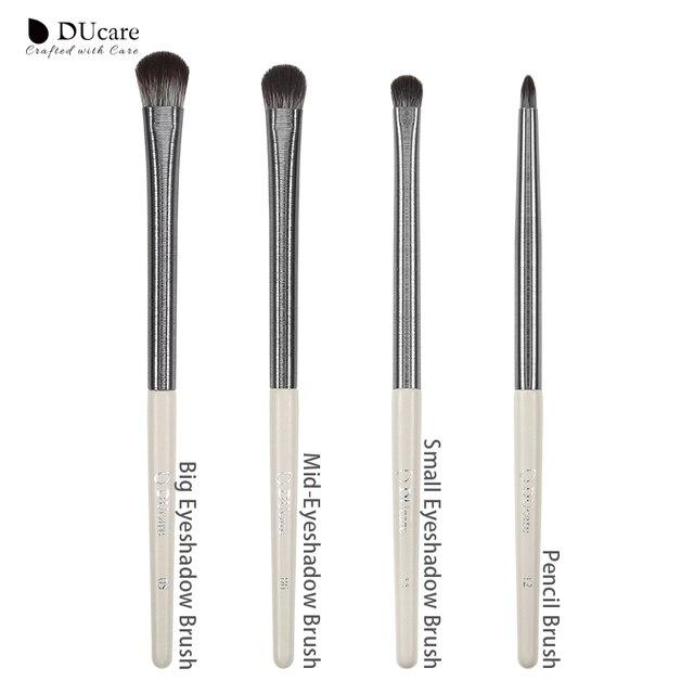 DUcare Eyeshadow Brush 4/6/7/8PCS Makeup Brushes Blending Eyebrow Brush Nature Bristles Synthetic  Hair Eye Shadow Brush Set 4