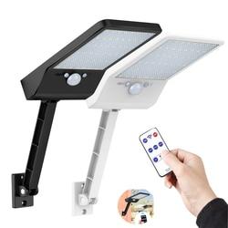 KDL LED lampa słoneczna kinkiet Led zasilany radarowy czujnik ruchu ogrodowa wodoodporna 48