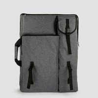 4k Art Bag for Drawing Board Painting Easel Student Outdoor Travel Sketch Bag Backpack Large Storage Art Supplies for Artist