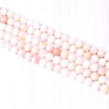 Top Powder Opal Natural Stone Beads For Jewelry Making Diy Bracelet Necklace 4/6/8/10/12 mm Wholesale Strand