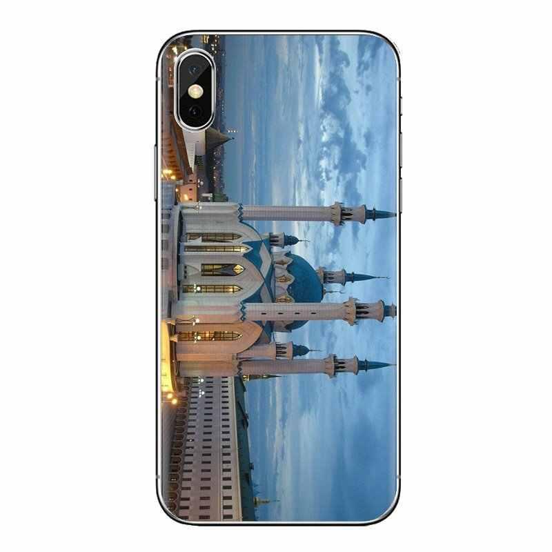 Pour Huawei Mate Honor 4C 5C 5X6X7 7A 7C 8 9 10 8C 8X20 Lite Pro Qolsharif mosquée Kazan russie doux Transparent housses