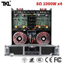 TKL 8ohm 1000W 4 PX4100 four channel power amplifiers stage DJ subwoofer line array professional amplifier