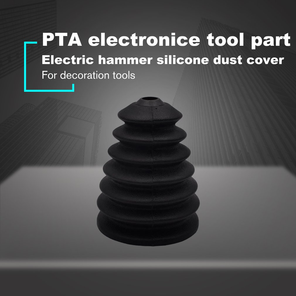 Electric Hammer Drill Dust Cover For Power Impact Drill Bits Set Rubber Scalable Dust Collector Dustproof Collection